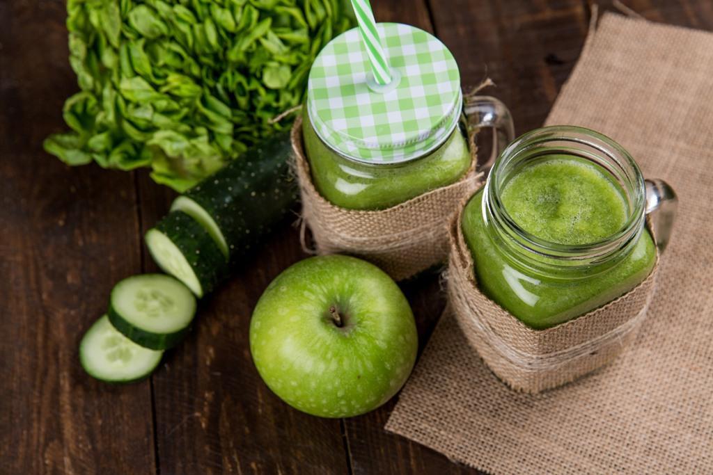 Detox smoothie/greenie, der giver energi og styrker kroppen